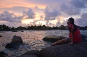 Sunset Tanjung Tinggi