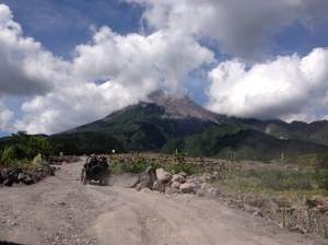 the marvellous Merapi
